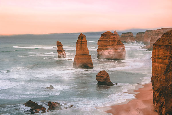 Australien, 12 Apostel, Küste, Ozean