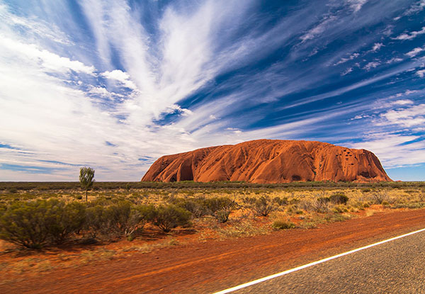 Australien, Ayers Rock, Outback