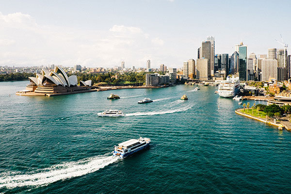 Australien, Sydney, Opera