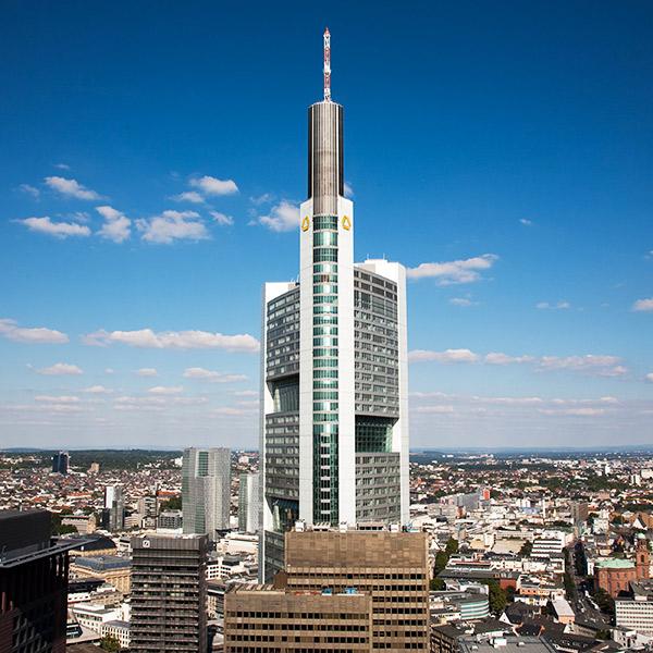 Commerzbank Zentrale in Frankfurt am Main