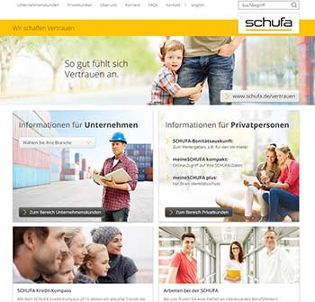 Schufa Online Screenshot
